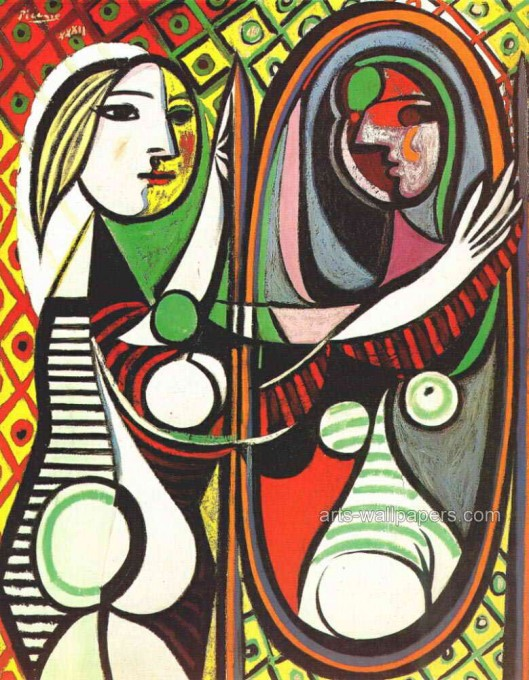 girl before mirror picasso