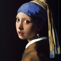 The Girl with The Pearl Earring painting
