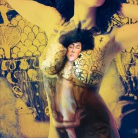 Judith: body painting reproduction of Klimt's painting