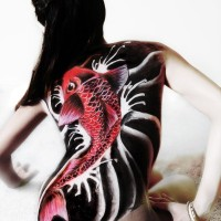 Body painting gallery: Asian Influenced