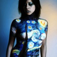 Body painting gallery: Art History Series