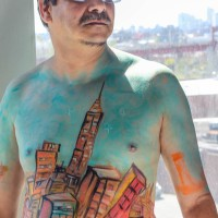 body painting jam session 09/07/13