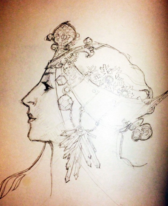 Mucha sketch 5 minutes a day exercise
