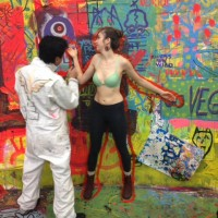 bodypainting at NEW museum