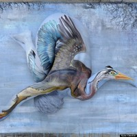 Body Painter Covers People's Skins in Hyperrealistic Depictions of Animals
