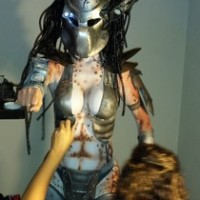 Sci-fi geeks gather at Out of this World body art and burlesque show in Orlando