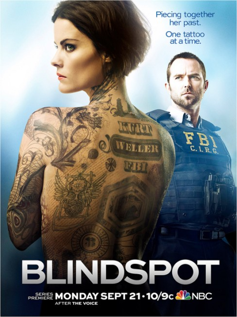 blindspot tattoo poster