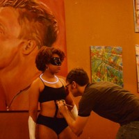 Body painting show back in downtown Macon Friday night