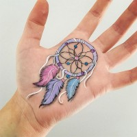Popular Instagram Body Artist Uses Her Arm as Canvas