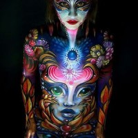 Bodypainting challenge in downtown Concord part of international competition