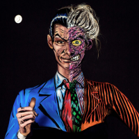This artist paints on her body to transform herself into trippy 2D comic superheroes