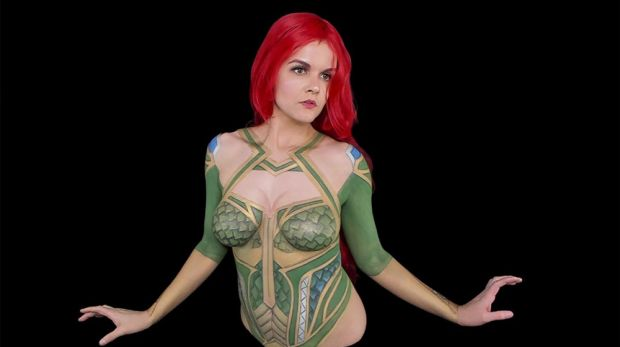 """Bodypainting streamer calls out Twitch's guidelines after """"wrongful"""" ban"""