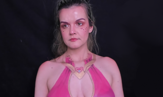 Twitch has reinstated body painting streamer Forkgirl's account after