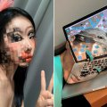 This 'illusion' artist uses her face as a mind-blowing canvas